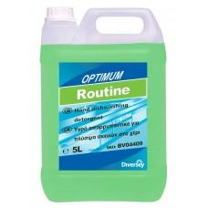 Diversey Optimum Routine 5LT Απορρυπαντικό για πλύσιμο σκευών.