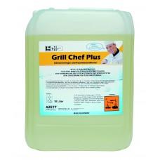 Azett Grill Chef Plus 10Lt  Άοσμο καθαριστικό για καμμένα λίπη (καρβουνίλα)