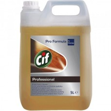 CIF PROFESSIONAL WOOD FLOOR CLEANER 5LT - ΚΑΘΑΡΙΣΤΙΚΟ ΞΥΛΟΥ & LAMINATE