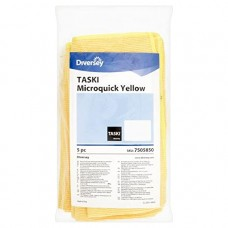 Taski Microquick Πανί μικροϊνών  Κίτρινο  5 τεμάχια
