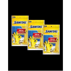 Sanitas Γάντια Γενικής Χρήσης Large 8½ - 9