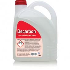 DECARBON - ΥΓΡΟ ΚΑΘΑΡΙΣΤΙΚΟ GRILL 4LIT Καθαριστικό φούρνου