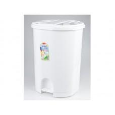 Κάδος απορριμμάτων πλαστικός με πεντάλ οβάλ 40Lt