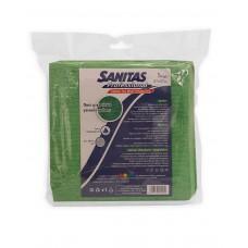 Πανί μικροϊνών Sanitas Professional πράσινο 37 x 37εκ.  πακέτο 5 τεμαχίων