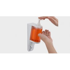 S7, Συσκευή δοσομέτρησης κρεμοσάπουνου και σαμπουάν, Liquid soap,Sampoo and Disinfectant Dispenser White