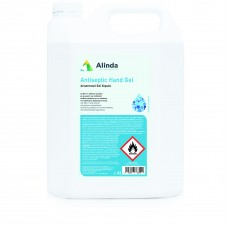 Αλκοολούχο Antisept Gel Alinda 80% 4Lt