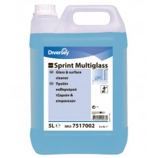 Taski Sprint Multiglass 5L Υγρό καθαρισμού τζαμιών και γυάλινων επιφανειών