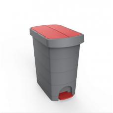 Επαγγελματικός Κάδος Απορριμμάτων πλαστικός με πεντάλ Planet Pelican 20 λίτρων