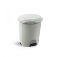 Κάδος απορριμμάτων πλαστικός με πεντάλ Planet 12 λίτρων