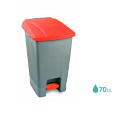Κάδος απορριμμάτων πλαστικός με πεντάλ  70lt