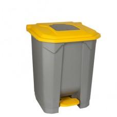 Κάδος απορριμμάτων  πλαστικός με πεντάλ 50lt